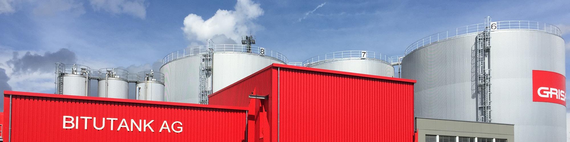 Grisard Bitumen Dienstleistungen Banner