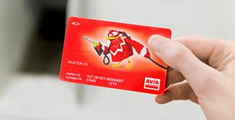 AVIA Kundenkarte Grisard Basel Baselland Schweiz Service
